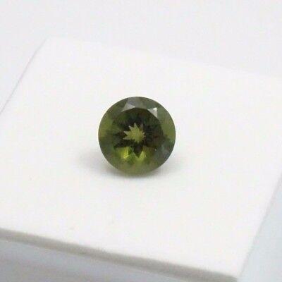 Moldavite - 1.70ct - 8mm - Round - Moldavite Loose Gemstone