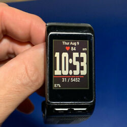 Garmin Vivoactive HR- Touch Screen GPS Smartwatch - Regular Fit, Black