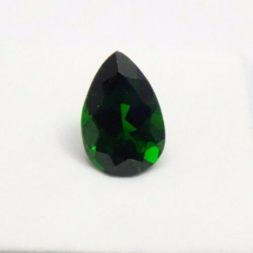 Beautiful Russian Chrome Diopside 4.30ct - Pear Shape - 13x9mm - Loose Gemstone