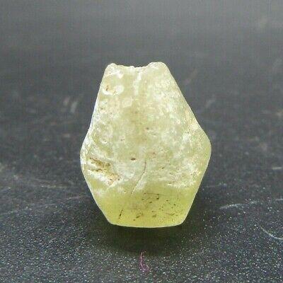 Viking white glass bead 10th century ad