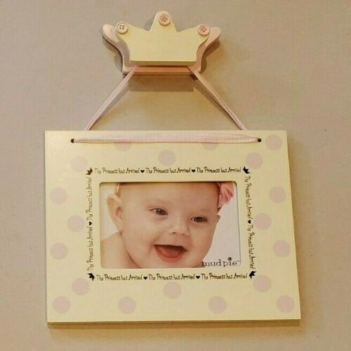 Mud Pie The Princess Has Arrived Picture Frame 4x6