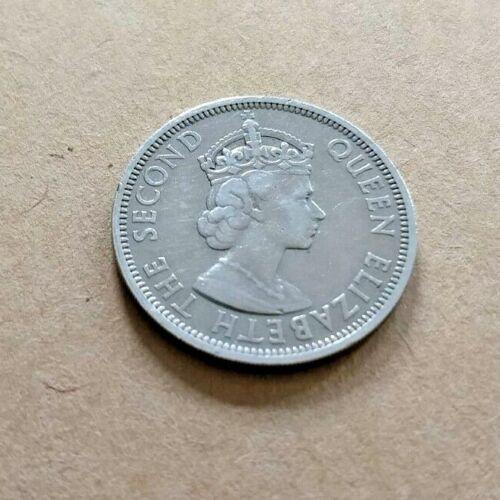1966 Seychelles Rupee 1 Coin - Queen Elizabeth II Face