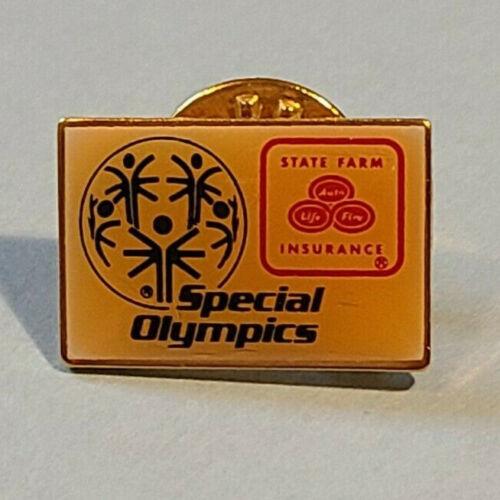 Vintage State Farm Insurance SPECIAL OLYMPICS Pin ~ Lapel, Hat, Tietack ~ Ballou