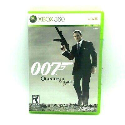 James Bond 007: Quantum of Solace (Microsoft Xbox 360, 2008)