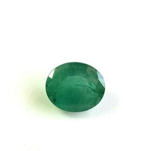 4.19cts Natural Emerald Oval 9.30x11.10mm Untreated Green Loose Gemstone Fine