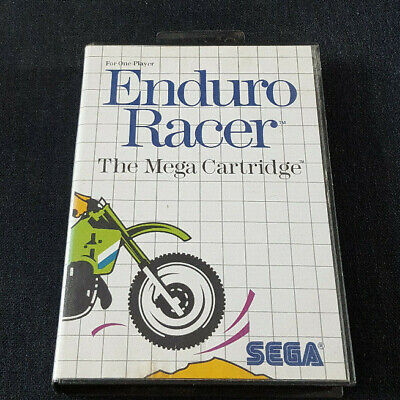 SEGA Master System Boxed Game Enduro Racer Mastersystem for sale  Shipping to Nigeria