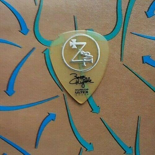 BLACK LABEL SOCIETY Zakk Wylde see-through guitar pick