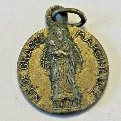 Médaille notre dame de Grace Marcinelle Charleroi Belgique Belgïe