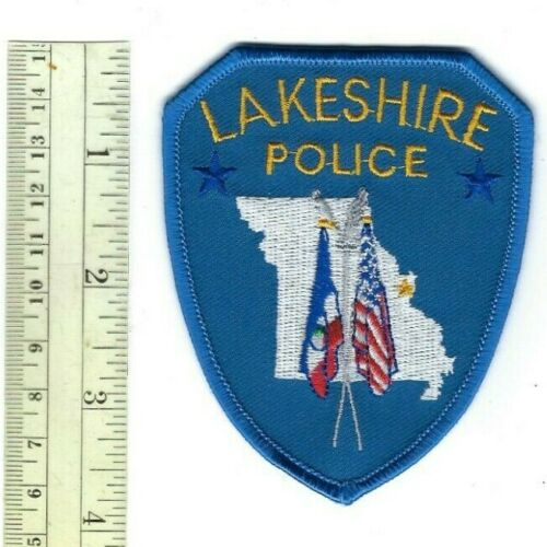 RARE Lakeshire (St. Louis County) MO Missouri Police patch - NEW!