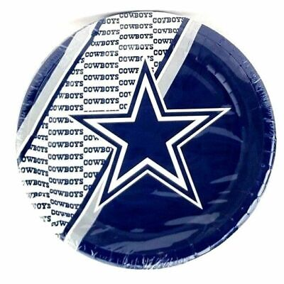 Nfl Party Supplies (Dallas Cowboys Plates 20 count Paper Party Supplies Tailgate NFL)