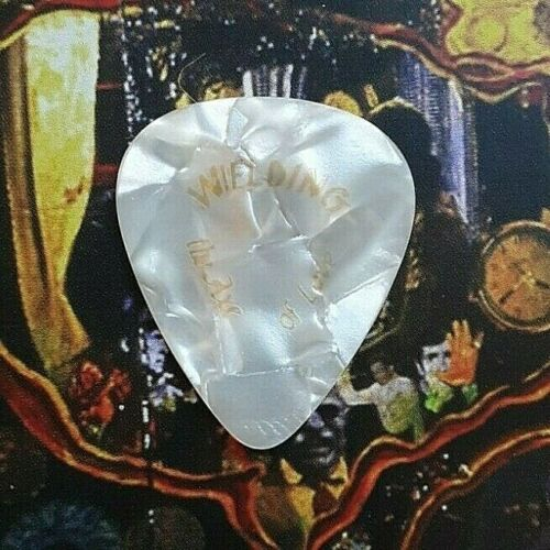 BON JOVI Richie Sambora Wielding the Sword of Love white marble guitar pick