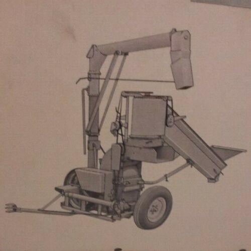 Case Grinder Mixer Portable Hammermill Auger Unloader genuine Parts Catalog T101