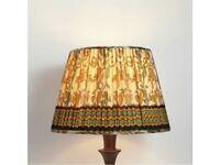 Soho House - Hand cut vintage silk lamp