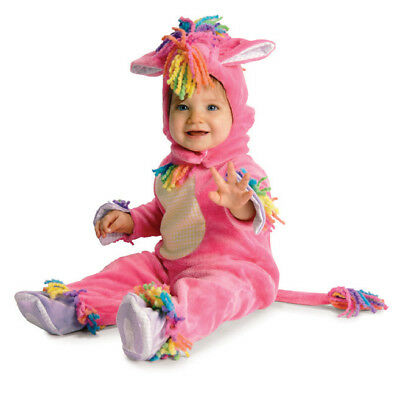 Magic Pony Pink Horse DLX Infant Toddler Child Costume (Baby Horse Costume)