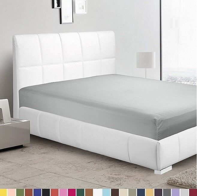 1800 count fitted sheet fits deep pocket