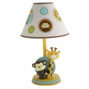 NoJo Jungle Tales Baby Nursery Lamp