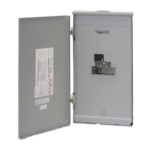 Transfer Panel,200-Amp Outdoor Manual Load Center W/Built-In 60A Transfer Switch