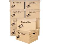 StorePAK eco lidded boxes (9 boxes) NEW