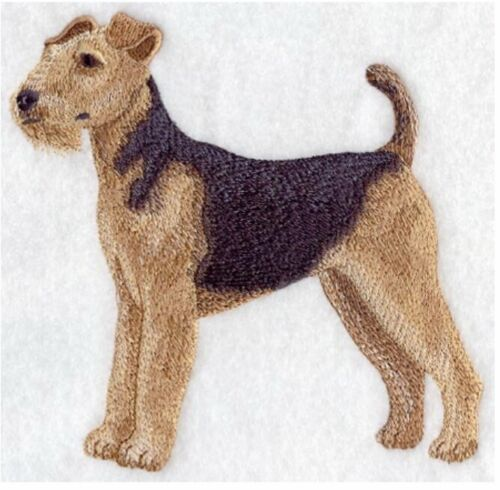 Airedale Terrier, Hand Towel, Embroidered, Custom, Personalized, Dog