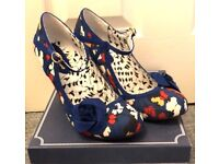 Ruby Shoos Blue and White