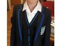 URSULINE ACADEMY ILFORD COMPLETE SCHOOL UNIFORM AGE 10-11 YEAR 7 EXCELLENT CONDITION SMOKE/PET FREE