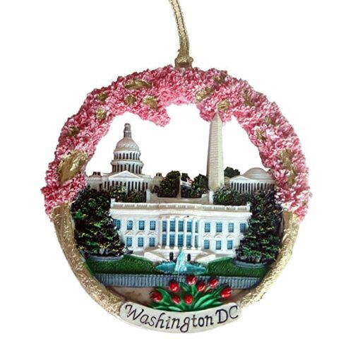 Christmas Ornament/Washington DC Monuments Ceramic