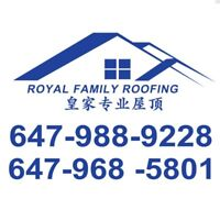 ROOFING REPAIR/REPLACEMENT@ROYAL FAMILY @@QUALITY INSURED