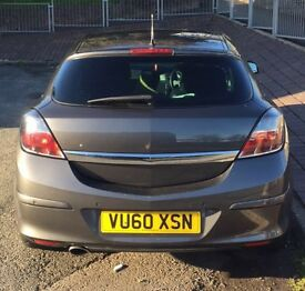 Vauxhall Astra 1.7 Sri 2010,3dr, diesel, manual (grey)