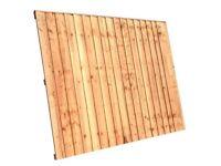 6x5 heavy duty garden fence panels £22.00 each