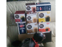 Krups Nescafe Dolce Gusto Melody 3 Manual Coffee Machine - Black for sale with 200+ coffe pods