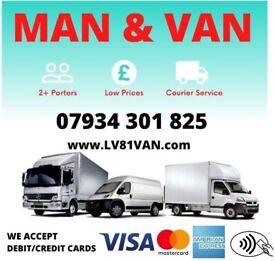 MAN AND VAN HIRE SAME DAY CHEAP 07 934 301 825