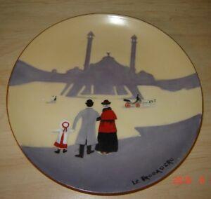 """Handpainted Plate """"Le Trocadéro"""" Paris"""