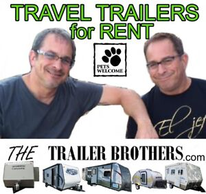 Rent a Travel Trailer during your home closing