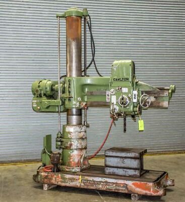 4 X 11 Carlton Model 1a Radial Arm Drill Stock Number 1374