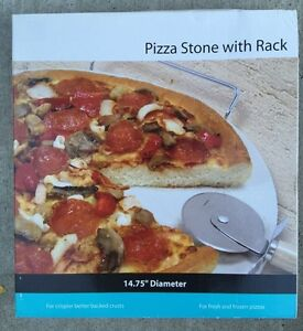 Pizza Stone with rack