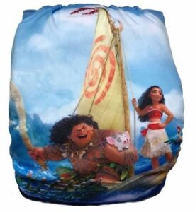 Couches lavable moana