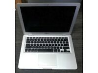 FAULTY MACBOOK AIR 13 inch dual core, Fully working apart from Logic board
