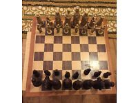 Chess with pieces