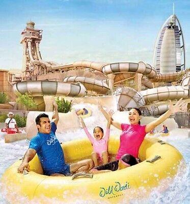 ** Wild Wadi Dubai - Entertainer Dubai 2017 Adult Over 1.1m - E Voucher