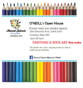 Artist- ONeill's Open House Sale-May 6th 1pm-7pm