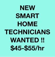 OTTAWA Smart Home Install Tech urgently needed $45-45 hour