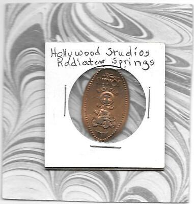 TOW TRUCK - HOLLYWOOD STUDIOS RADIATOR SPRINGS Elongated Pressed Smashed Penny - $2.25