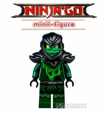 NINJAGO RARE - Possessed EVIL LOYD - GREEN GHOST MORRO - fits lego figure (F10)