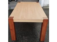 Brand New Two Tone Wood Dining Table