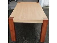 Brand New Two Tone Dining Table