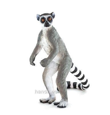 Mojo Fun 387177 Ringtail Lemur Model Toy Animal Replica - NIP