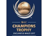 Champions Trophy 2nd Semi Final 3 SILVER TICKETS