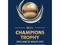 4 India vs Pakistan Champions Trophy Silver Tickets