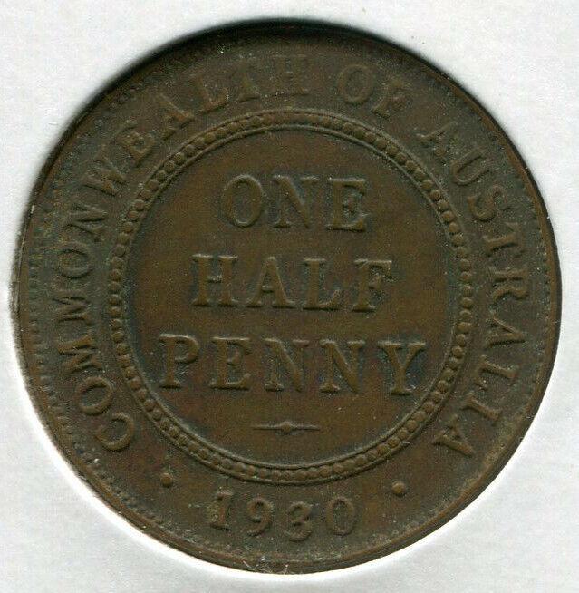 Australia - Half Penny 1930 KEY