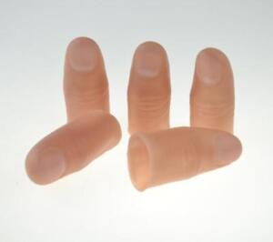 10pcs Hard Thumb Tip Fake Thumb tip For Vanishing,Exchanging and Appearing Trick